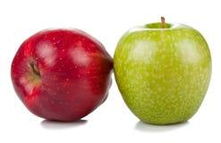 μήλα δύο Στοκ φωτογραφία με δικαίωμα ελεύθερης χρήσης