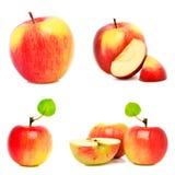μήλα ώριμα τρία Στοκ Εικόνα
