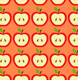 μήλο άνευ ραφής Στοκ φωτογραφίες με δικαίωμα ελεύθερης χρήσης