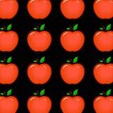 μήλο άνευ ραφής διανυσματική απεικόνιση
