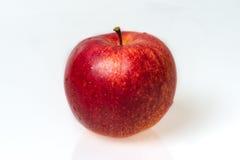 μήλο ένα κόκκινο Στοκ Εικόνες