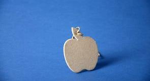 Μήλο εγγράφου Στοκ Εικόνες