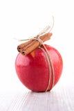 Μήλο και κανέλα Στοκ Εικόνες