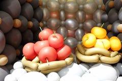 Μήλο μπαλονιών Στοκ Φωτογραφία