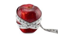 μήλο που μετρά το κώλυμα Στοκ φωτογραφίες με δικαίωμα ελεύθερης χρήσης