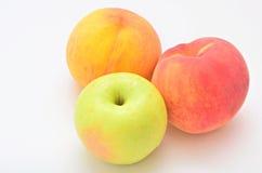 Μήλο ροδάκινων Στοκ φωτογραφίες με δικαίωμα ελεύθερης χρήσης