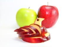 Μήλο του Κύκνου Στοκ Εικόνες