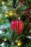 Μήλο Χριστουγέννων Στοκ φωτογραφίες με δικαίωμα ελεύθερης χρήσης