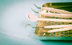 Μίας χρήσης οδοντικά όργανα Στοκ φωτογραφία με δικαίωμα ελεύθερης χρήσης