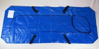 Μίας χρήσης σακούλα για μεταφορά πτωμάτων στοκ φωτογραφίες με δικαίωμα ελεύθερης χρήσης