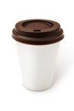 Μίας χρήσης φλυτζάνι καφέ Στοκ φωτογραφία με δικαίωμα ελεύθερης χρήσης