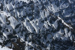 Σχέδιο βουνών στοκ εικόνες
