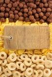 Μίγμα δημητριακών ως υπόβαθρο Στοκ Φωτογραφίες