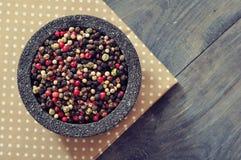 Μίγμα πιπεριών Στοκ Εικόνα