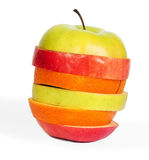 Μίγμα της Apple που απομονώνεται στο λευκό Στοκ φωτογραφία με δικαίωμα ελεύθερης χρήσης