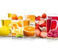 Μίγμα τσαγιού φρούτων Στοκ εικόνα με δικαίωμα ελεύθερης χρήσης