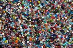 μίγμα χρώματος χαντρών Στοκ φωτογραφία με δικαίωμα ελεύθερης χρήσης