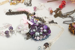 Μίμησης κοσμήματα στοκ φωτογραφία με δικαίωμα ελεύθερης χρήσης