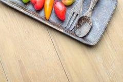 Μίμησης φρούτα Deletable στο πιάτο κοχυλιών καρύδων Στοκ Εικόνες
