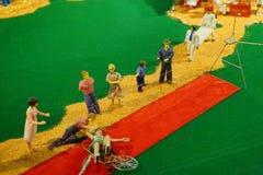 Μίνι άγαλμα τσίρκων: φάρμακο Στοκ φωτογραφία με δικαίωμα ελεύθερης χρήσης