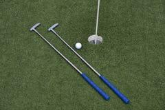 Μίνι γκολφ παιχνιδιών Στοκ Εικόνα