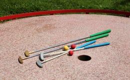 Μίνι γκολφ Στοκ Εικόνες