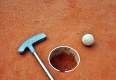 Μίνι γκολφ στοκ φωτογραφία με δικαίωμα ελεύθερης χρήσης
