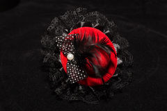 Μίνι κόκκινο καπέλο Στοκ Εικόνες