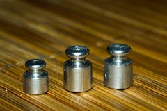 Μίνι μακρο φωτογραφία kettlebell στοκ φωτογραφία με δικαίωμα ελεύθερης χρήσης