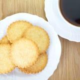 Μίνι μπισκότο καρύδων Στοκ φωτογραφία με δικαίωμα ελεύθερης χρήσης