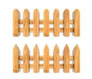 Μίνι μπροστινός κήπος φρακτών που περιφράζει το διακοσμητικό ξύλινο κλασικό ύφος ελεύθερη απεικόνιση δικαιώματος