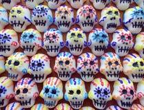 Μίνι ομαδοποίηση κρανίων ζάχαρης Στοκ φωτογραφίες με δικαίωμα ελεύθερης χρήσης
