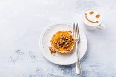 Μίνι πίτα κολοκύθας Στοκ εικόνες με δικαίωμα ελεύθερης χρήσης