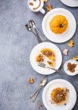 Μίνι πίτα κολοκύθας Στοκ Εικόνες