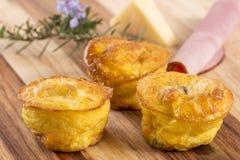 Μίνι πίτα τυριών στοκ φωτογραφίες
