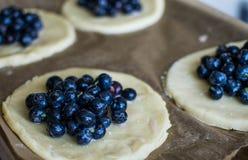 Μίνι πίτες βακκινίων Στοκ Εικόνα