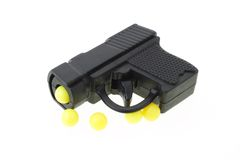 μίνι παιχνίδι πυροβόλων όπλω στοκ φωτογραφίες με δικαίωμα ελεύθερης χρήσης