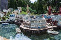 Μίνι πόλη Legoland Στοκ εικόνα με δικαίωμα ελεύθερης χρήσης