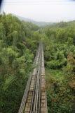 Μίνι δρόμος ραγών του Βιετνάμ Στοκ Φωτογραφία