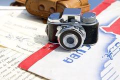 Μίνι φωτογραφική μηχανή Στοκ Εικόνες