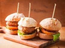 Μίνι Burgers Στοκ Εικόνα
