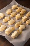 Μίνι Croissants Στοκ φωτογραφία με δικαίωμα ελεύθερης χρήσης