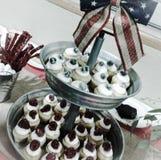 Μίνι Cupcakes στοκ φωτογραφία με δικαίωμα ελεύθερης χρήσης