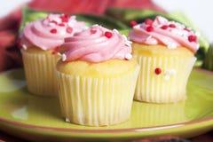 Μίνι Cupcakes στοκ φωτογραφίες με δικαίωμα ελεύθερης χρήσης