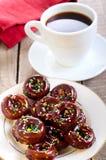 Μίνι donuts στοκ εικόνα