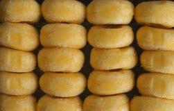 Μίνι doughnut υπόβαθρο Στοκ φωτογραφία με δικαίωμα ελεύθερης χρήσης