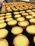 200 μίνι tarts λεμονιών στοκ φωτογραφία