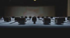 μίξη κονσολών Στοκ φωτογραφία με δικαίωμα ελεύθερης χρήσης