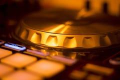 Μίξη περιστροφικών πλακών του DJ Ibiza Στοκ Εικόνες