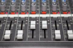 μίξη του ήχου Στοκ εικόνες με δικαίωμα ελεύθερης χρήσης